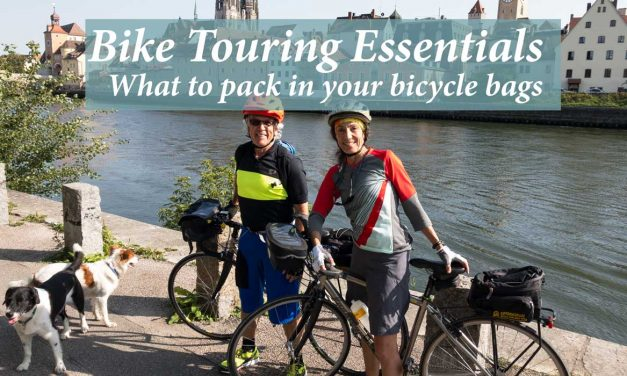 Bike touring essentials: What to pack in your bicycle bags