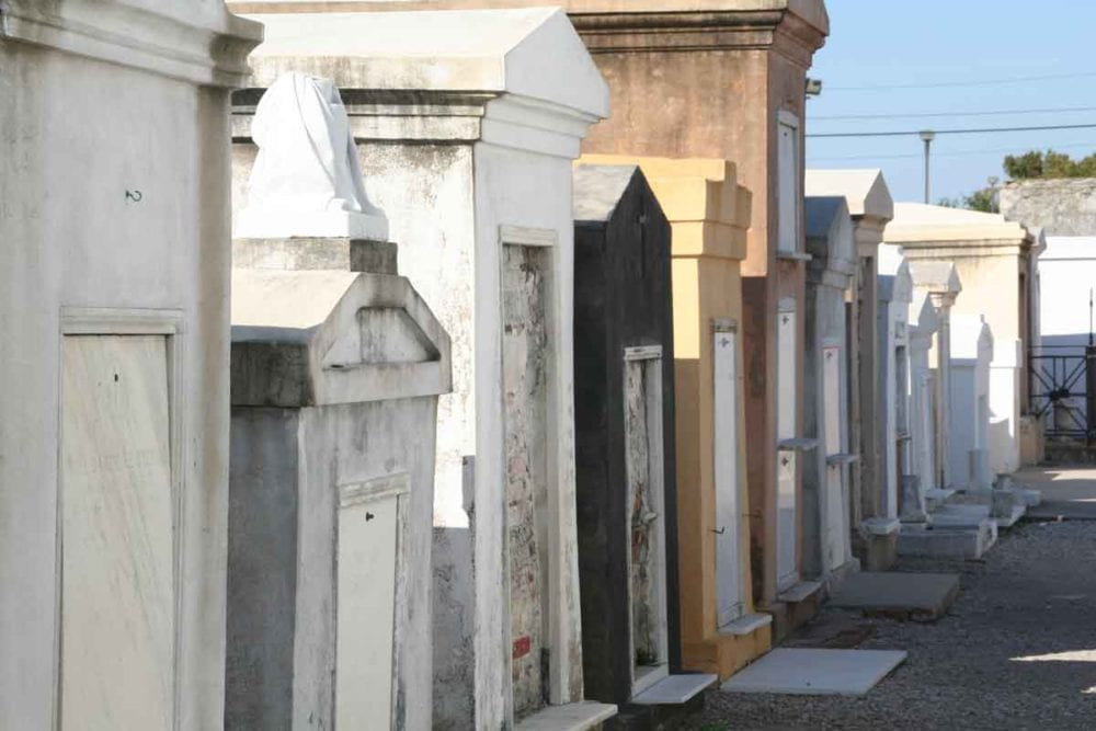 must see cemeteries include St. Louis cemetery in New Orleans