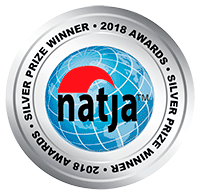NATJA Awards Silver Seal Small