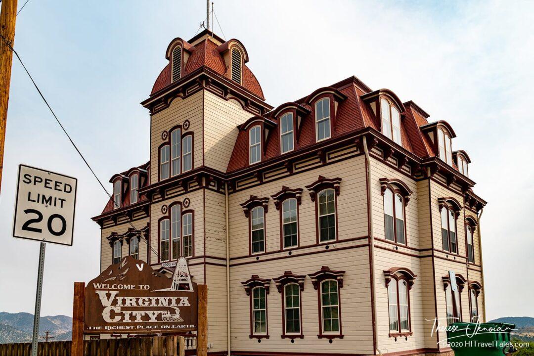 4th Ward School Virginia City