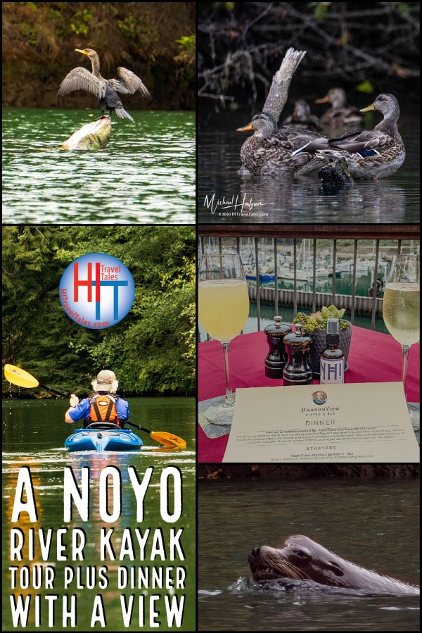A Noyo River Kayak Tour Plus Dinner With A View