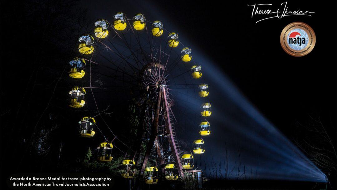 Abandoned Ferris Wheel Chernobyl Bronze Medal NATJA