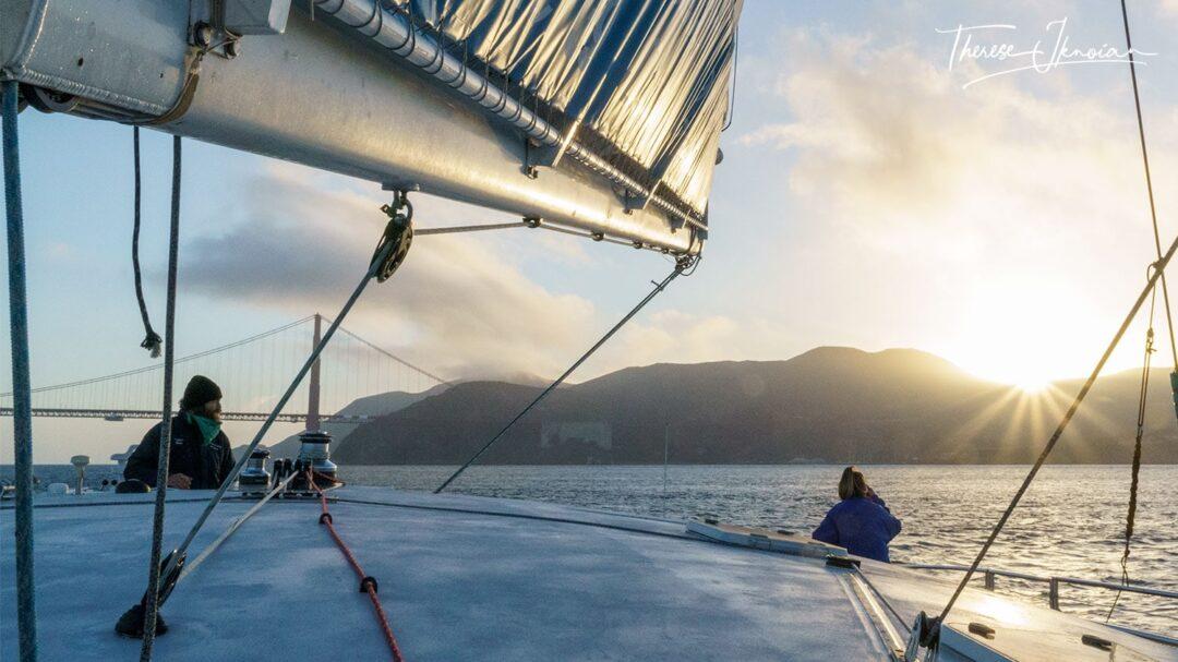 Adventure Cat Sunset Sail Marin