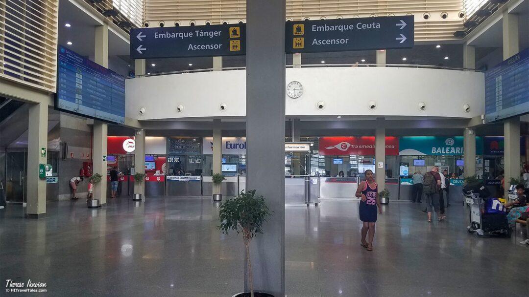 Algeciras Ferry Terminal To Morocco