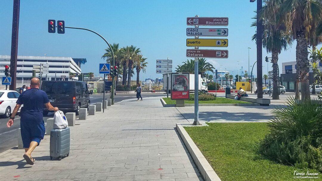 Algeciras Walk To Ferry To Morocco