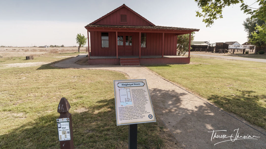 Allensworth State Historic Park Town Info