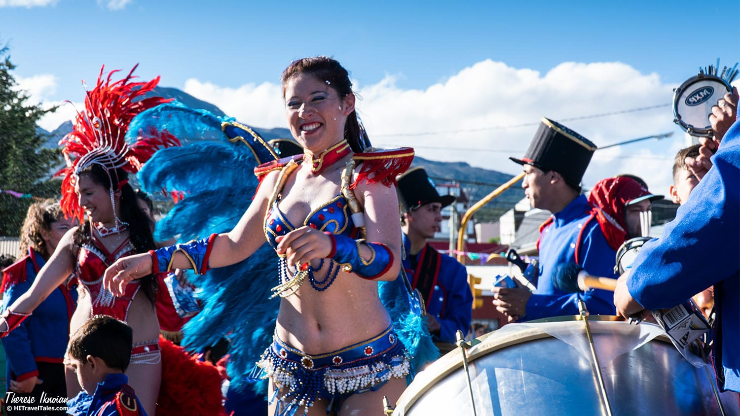 Jiggling, flouncing and swinging is part of the dance party called carnival in Ushuaia.