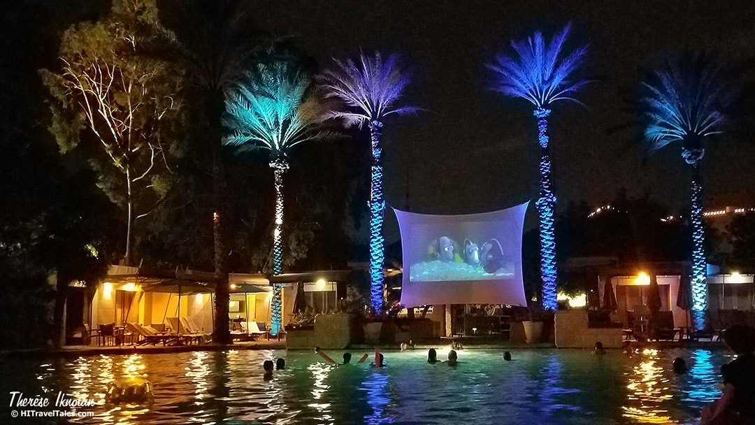 Arizona Biltmore Pool Movie Night