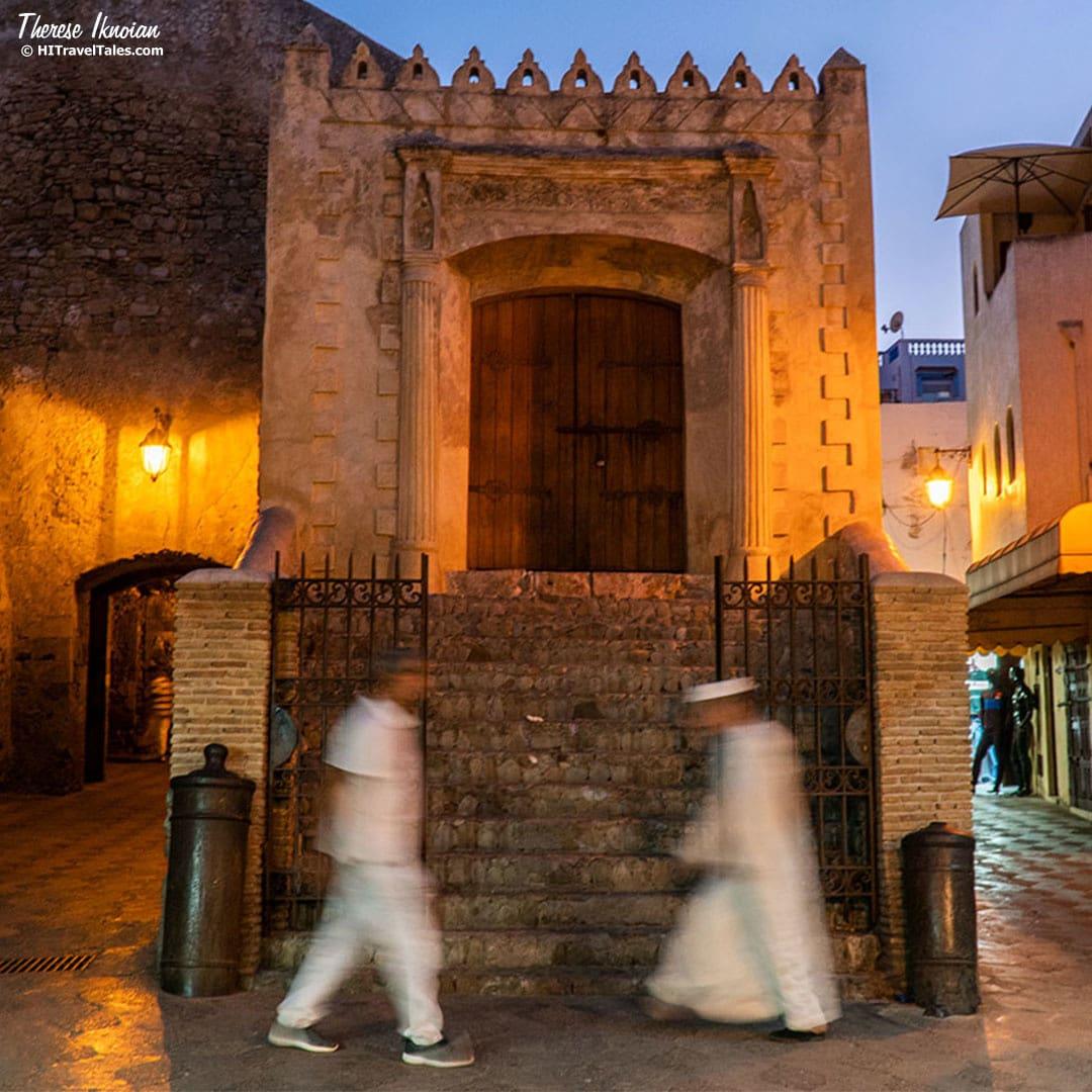 Bab Homar medina gate in Asilah, Morocco