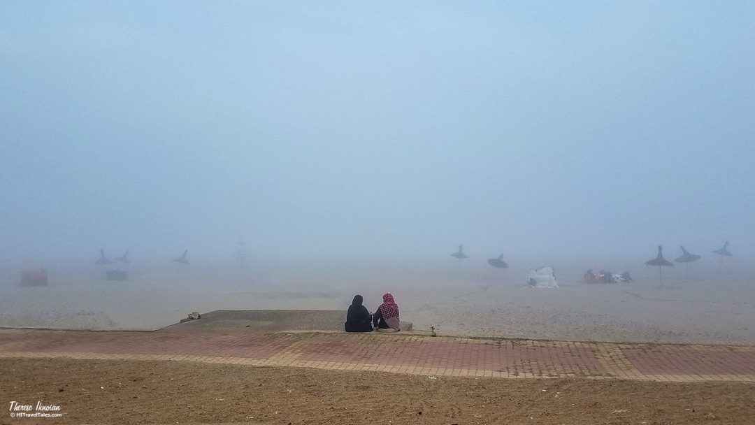 Asilah Morocco Beach In Fog