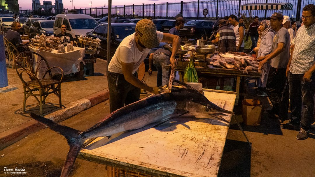 Asilah Morocco Fish Market Swordfish