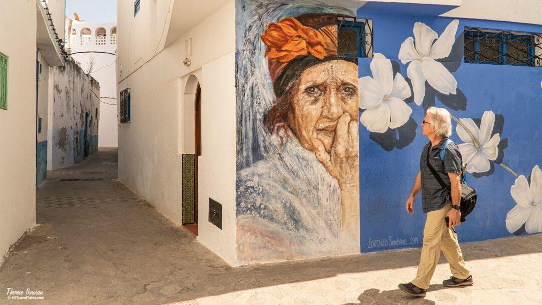 Asilah Morocco Street Art Lorenzo Sandrine