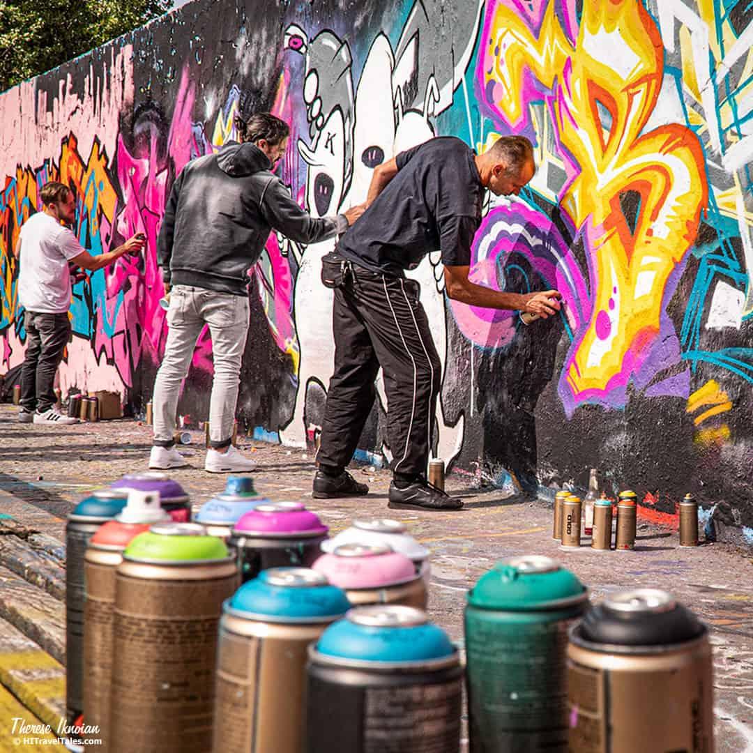 Berlin Mauer Park Street Art