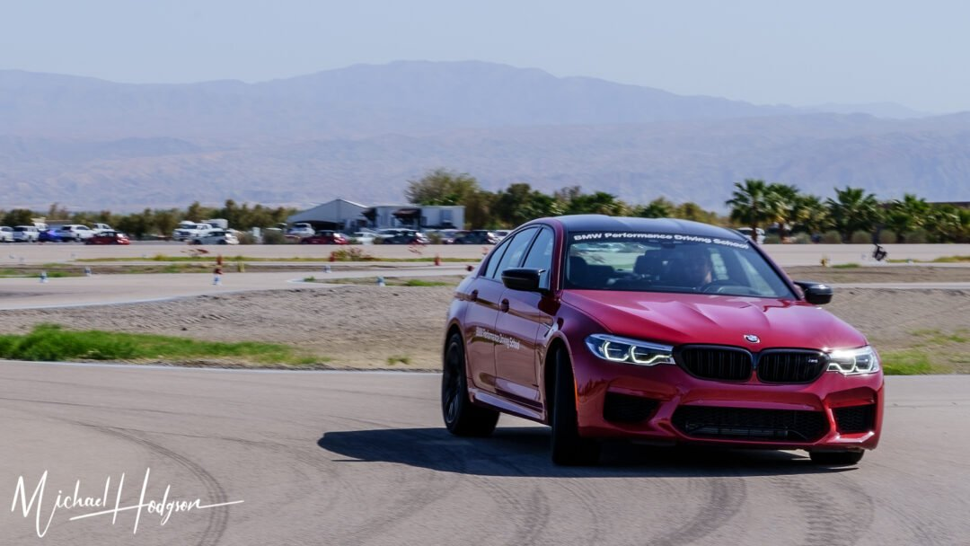 BMW M5 Hot Lap With Rob Stout