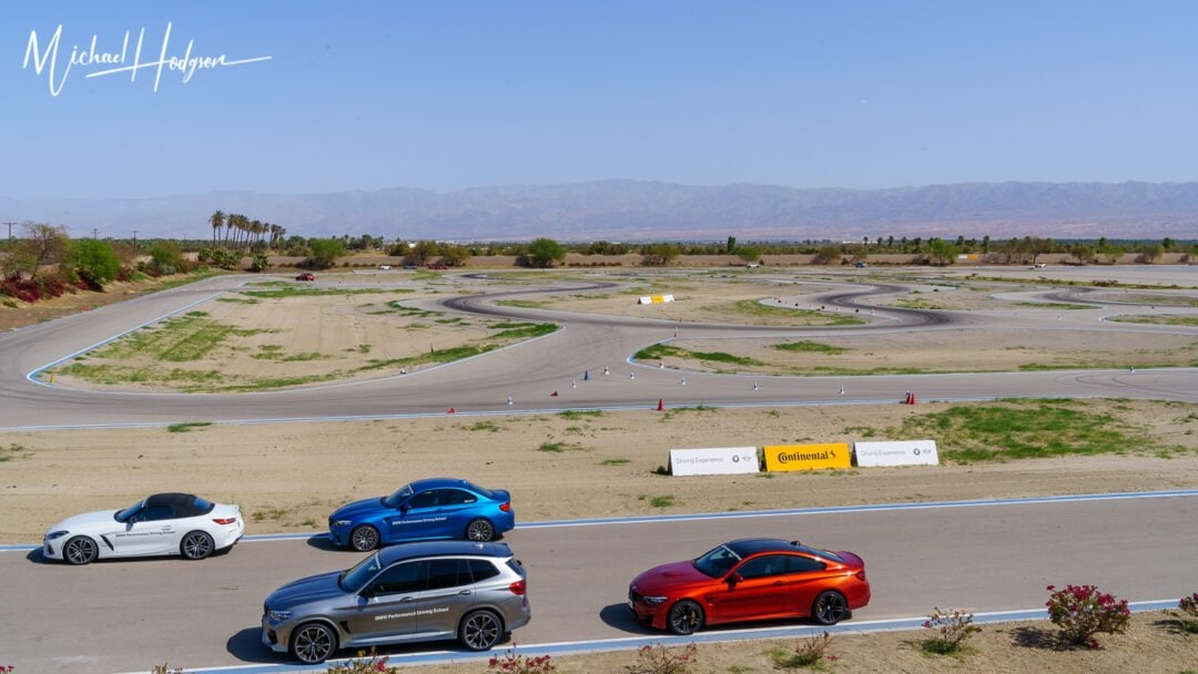 BMW Performance Racing School Track Overview