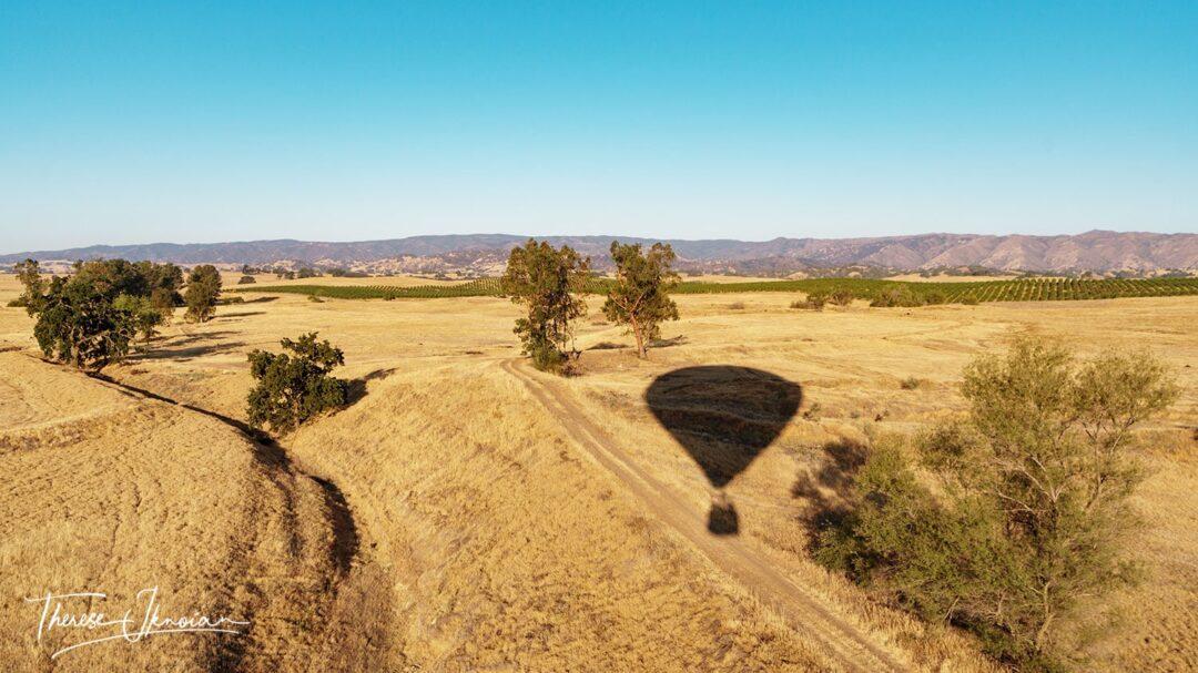 Ballon Shadow On Field
