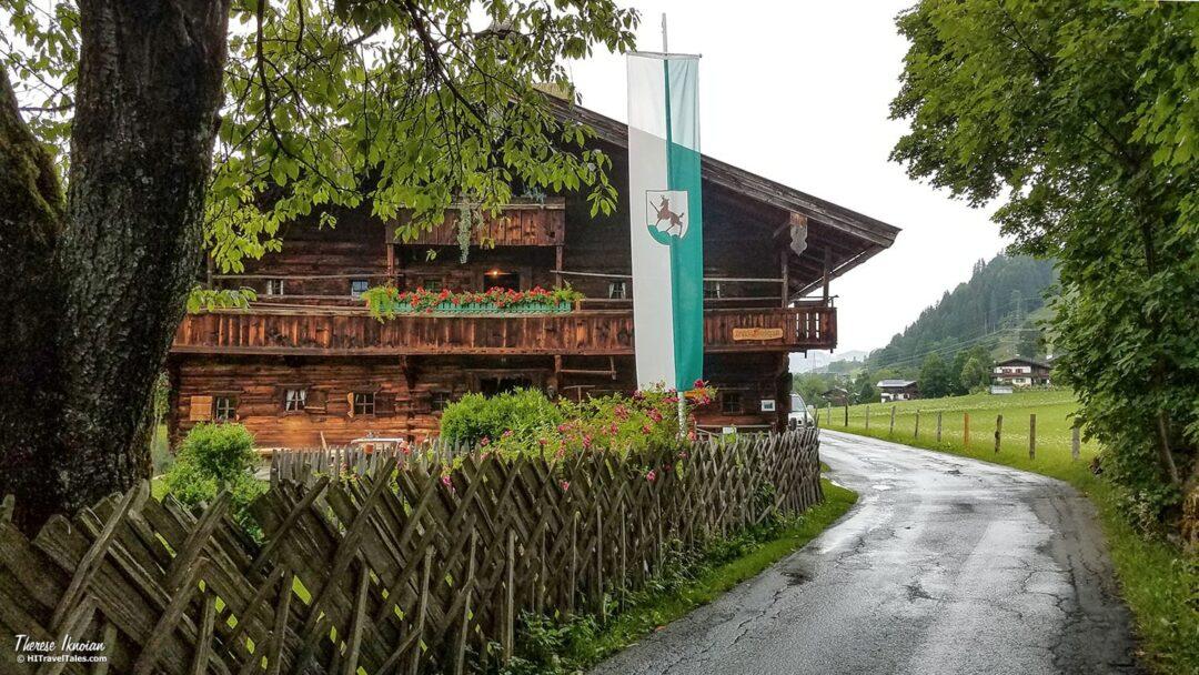 Bauernhaus Farmhouse Museum Kitzbuehel In Rain
