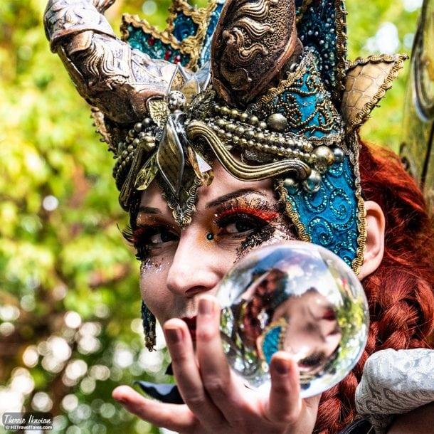Berlin Botanical Garden Crystal Ball