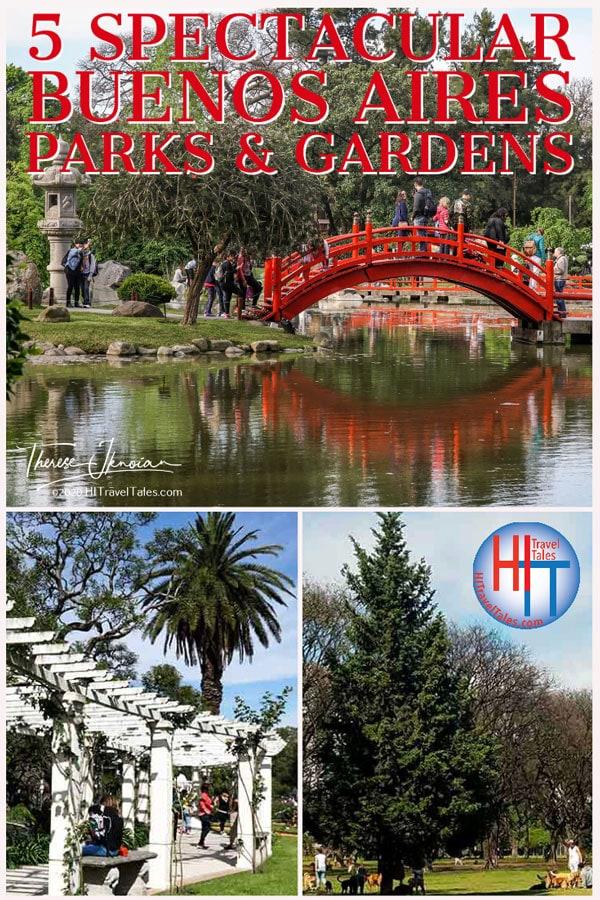 Best Buenos Aires Parks Gardens