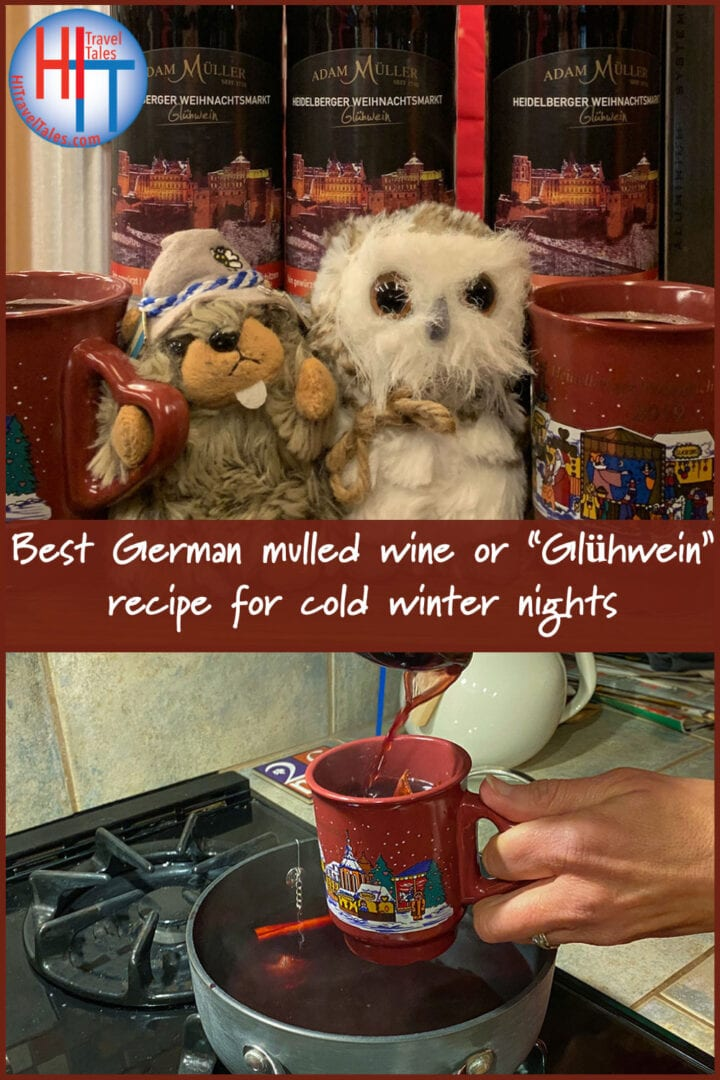Best German Mulled Wine Gluehwein Recipe