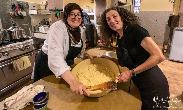 How to cook the best Moroccan couscous, thanks Riad Laaroussa