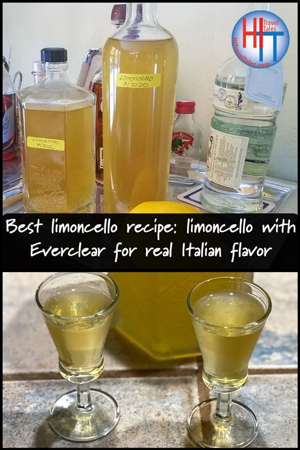 Best Limoncello Recipe Limoncello With Everclear For Real Italian Flavor