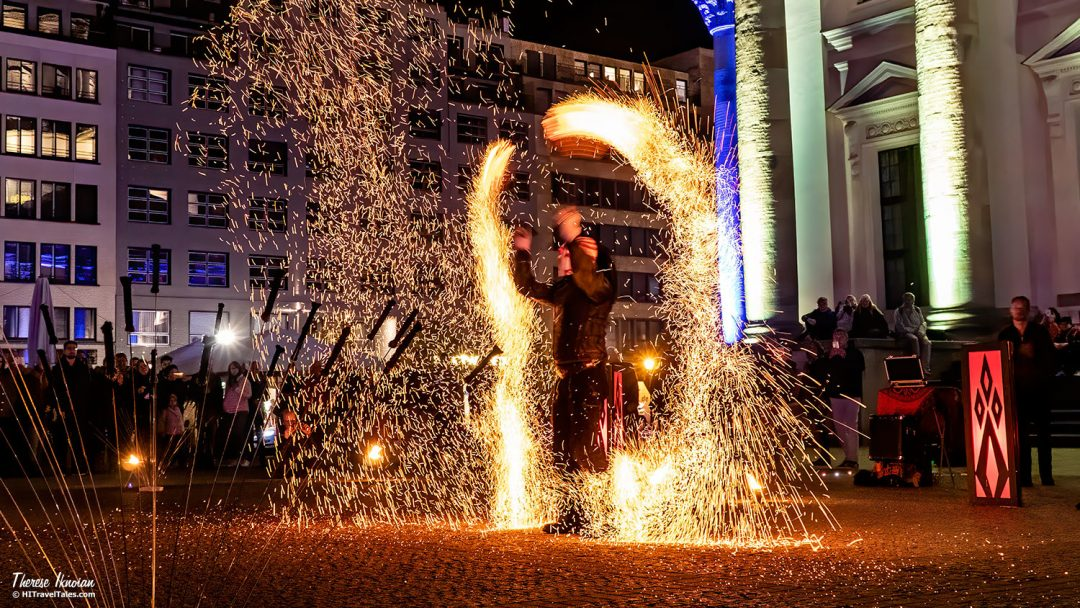 Bjorn Flow Of Fire Berlin Lights
