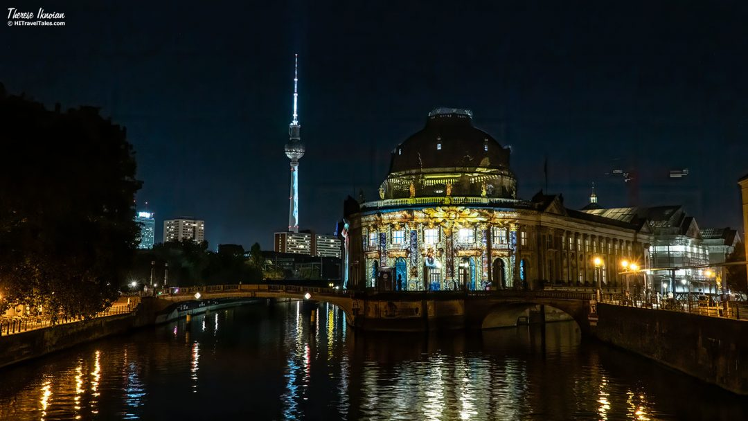 Bode Museum And TV Tower Light Festival Berlin
