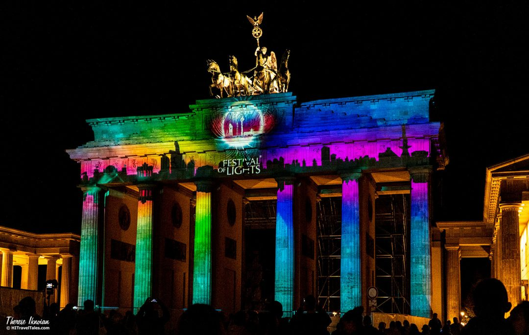 Brandenburg Gate Projections Berlin Light Festival