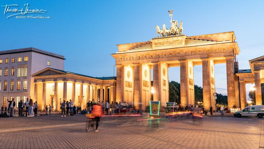 Brandenburg Gate Blur