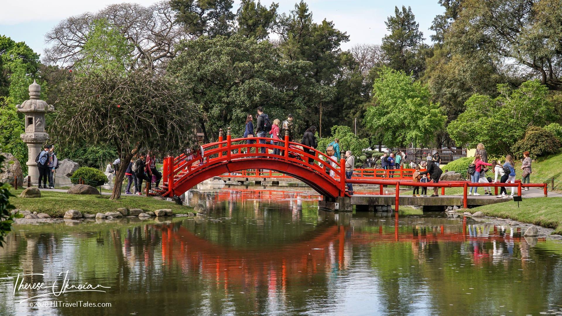 Japanese Garden In Buenos Aires Argentina