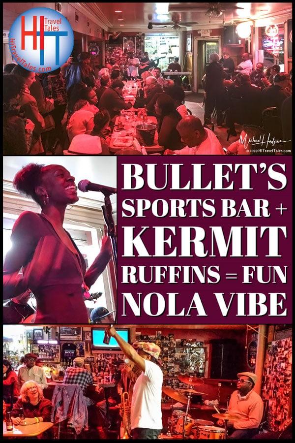 Bullets Sports Bar Kermit Ruffins