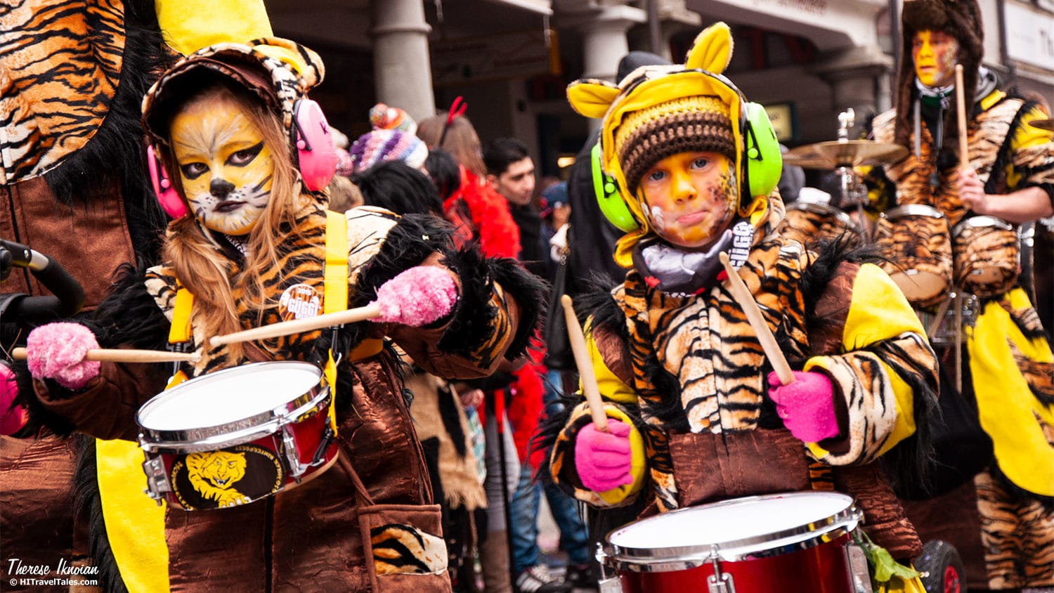 OK, so it may not have been perfected drumming, but it made noise! And for these tigers that's all that mattered.