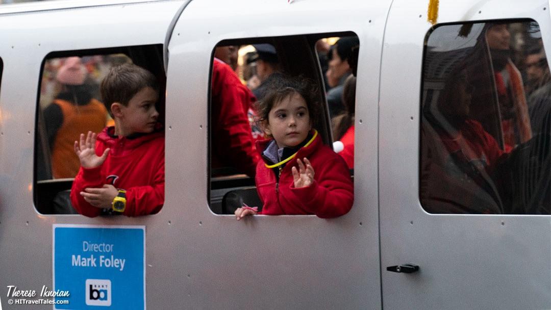 CNY Politicians Kids Waving