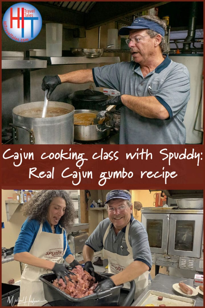 Cajun Cooking Class With Spuddy