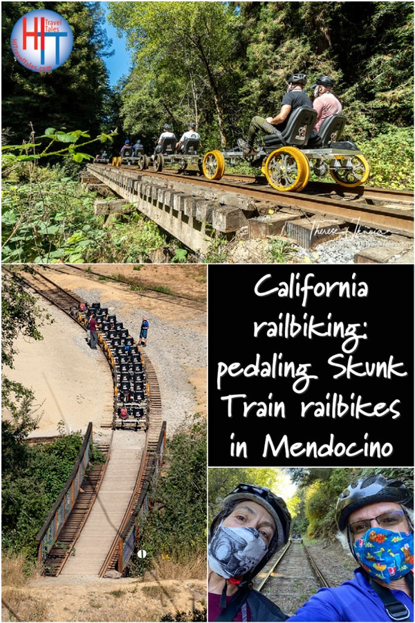 California Railbiking Skunk Train Railbikes In Mendocino