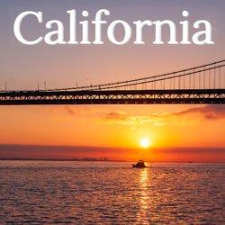 California Bay Bridge San Francisco Sunset