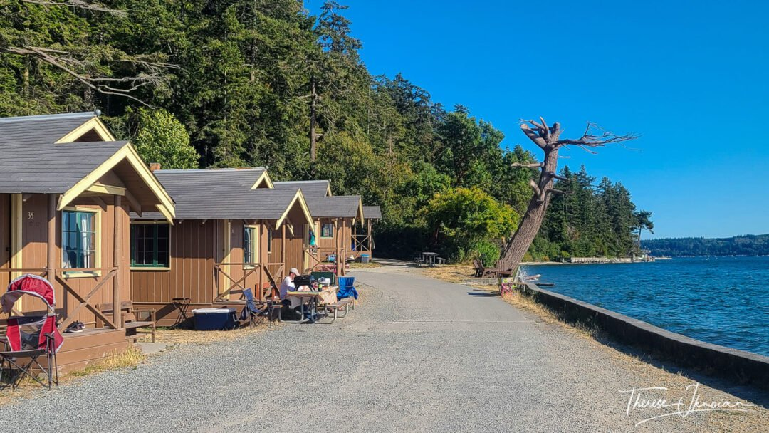Cama Beach Park Cabins