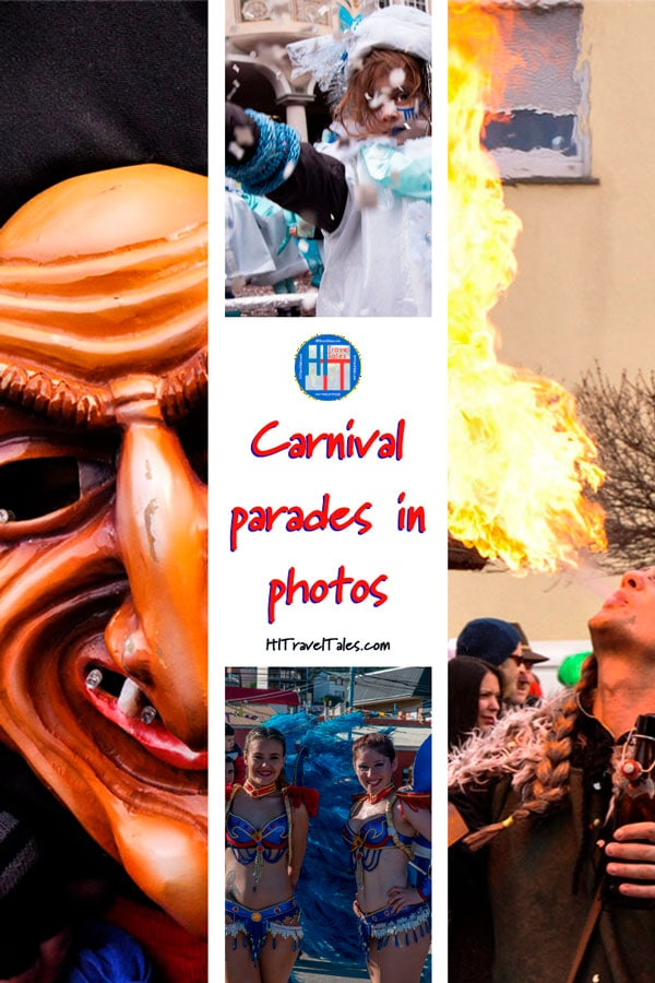 Carnival Parades In Photos