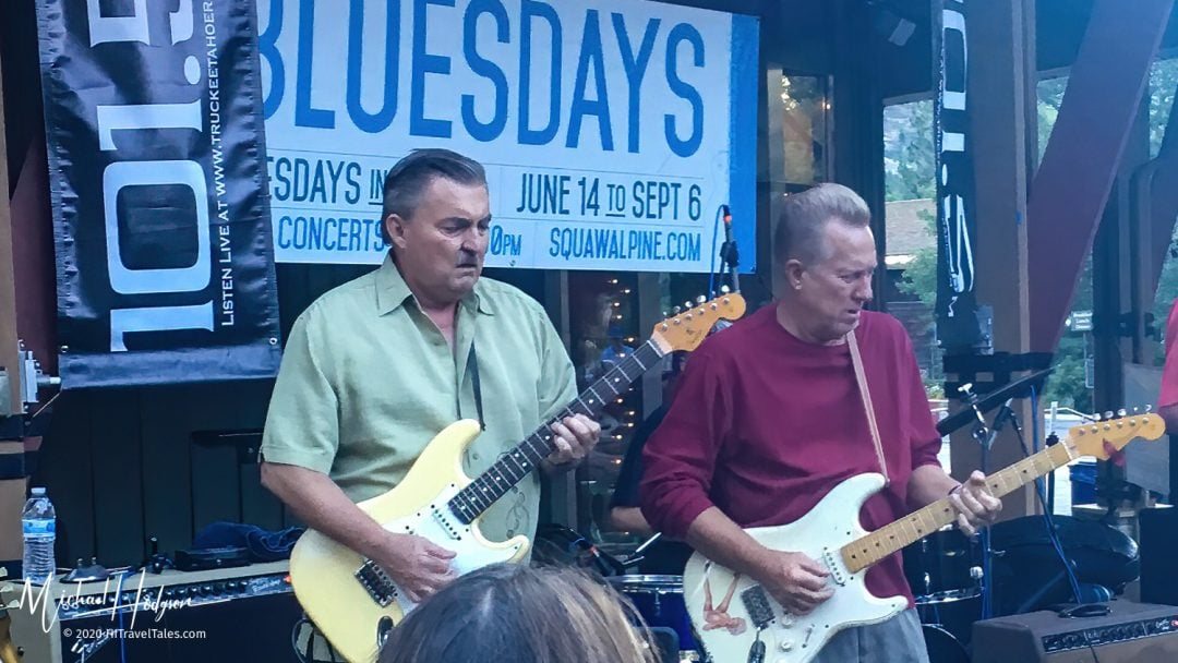 Charles Baty At Bluesdays In Squaw Valley