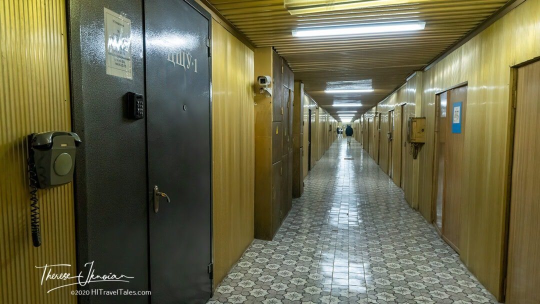 Chernobyl Nuclear Power Plant Golden Corridor