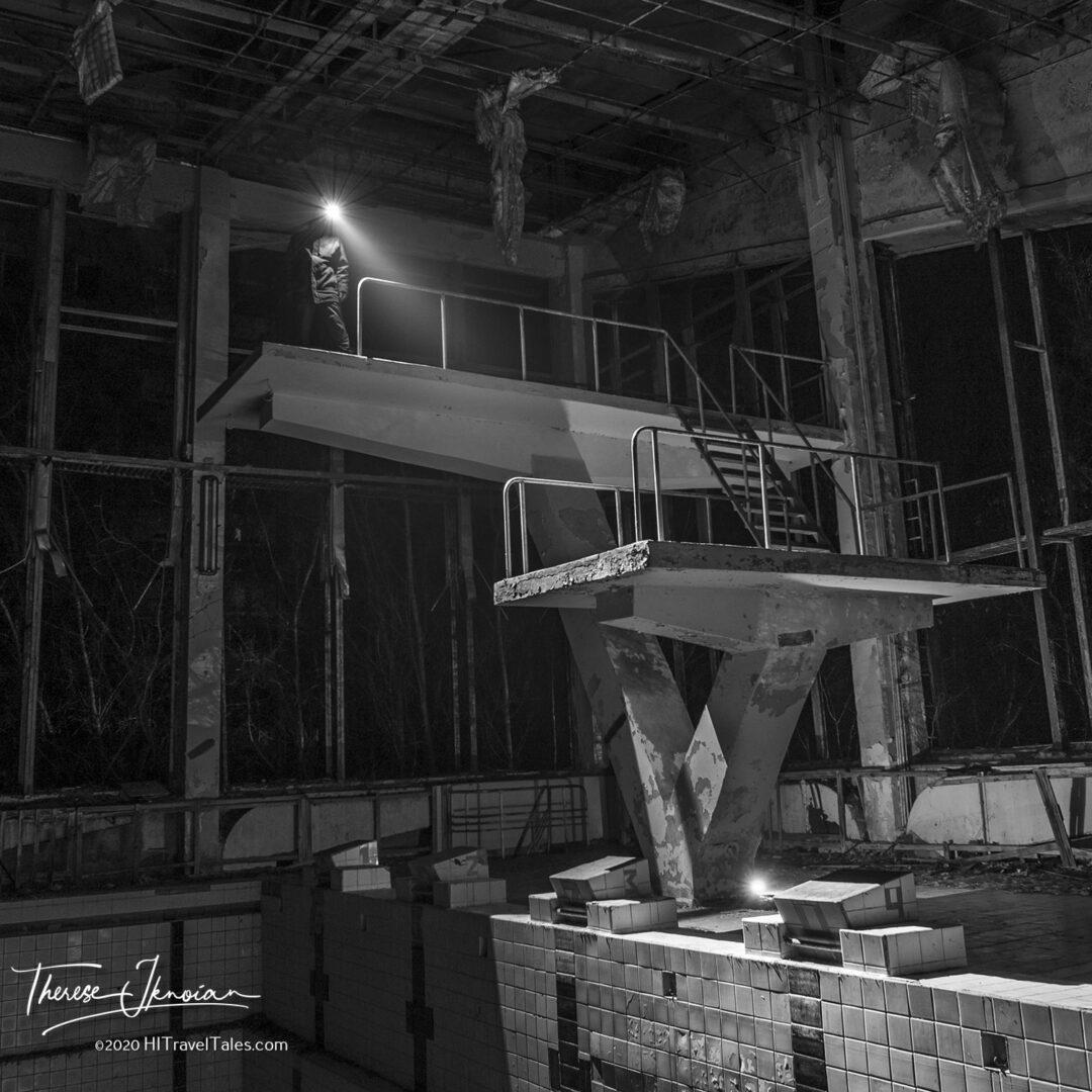 Chernobyl Pool Starburst NIght