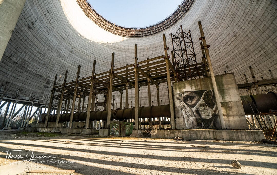 Chernobyl Reactor 5 Cooling Tower Abandoned 1