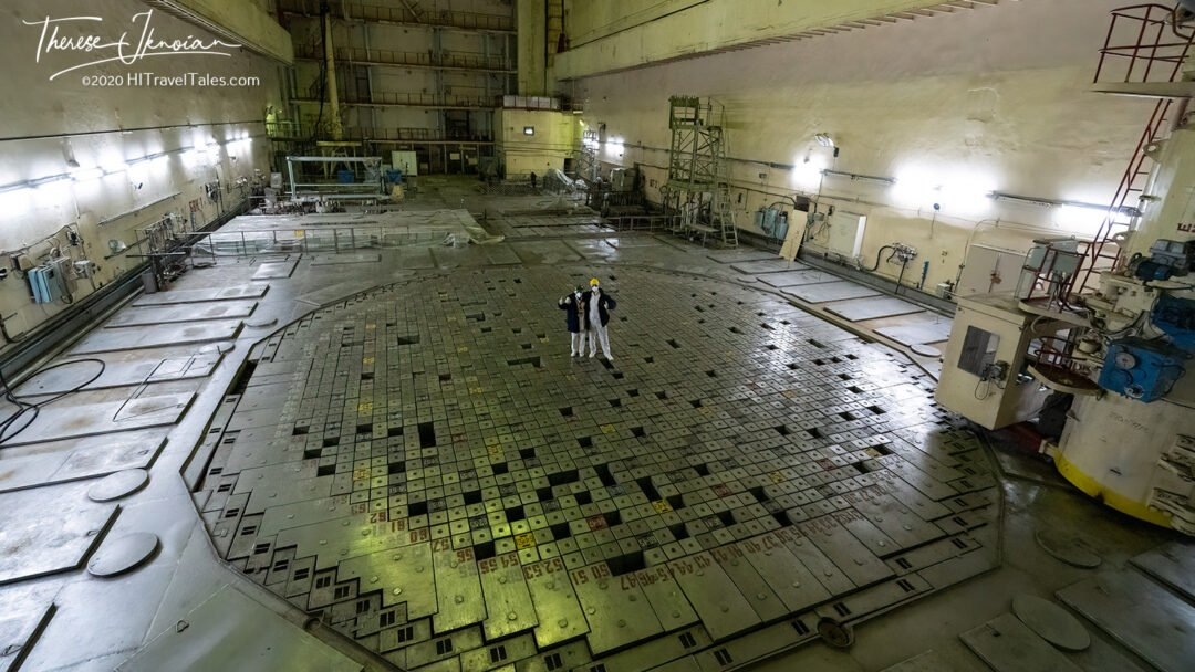 Chernobyl Reactor Tour Yelena Plate Explosion