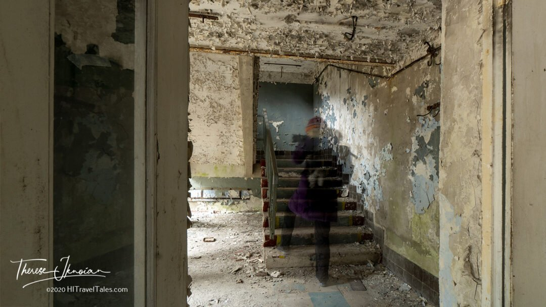 Chernobyl Zone Ghost In Stairs