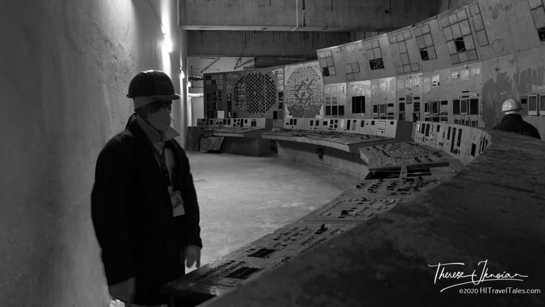 Chernobyl Plant Reactor 4 Control Room