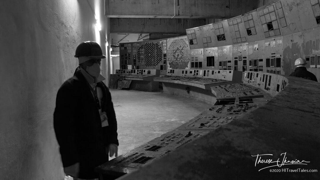 Chernobyl Plant Reactor 4 Control Room