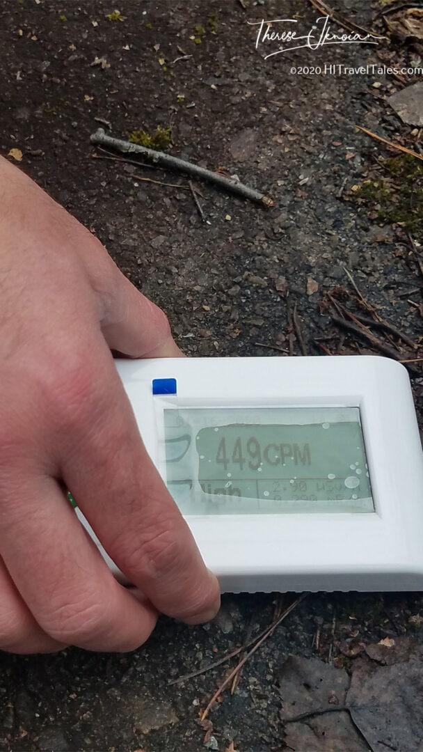 Chernobyl Radiation High Geiger Counter