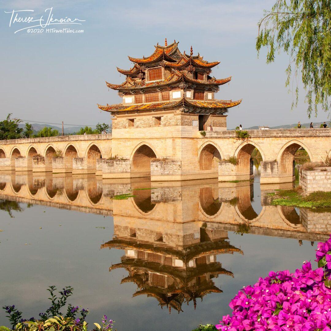 China Double Dragon Bridge