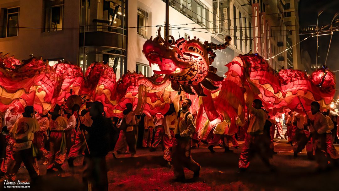 Chinese New Year Dragon Finale San Francisco